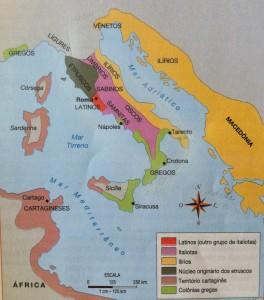 Povos da península itálica