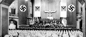 Comício do partido nazista