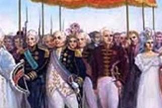 A chegada da família real portuguesa ao Brasil