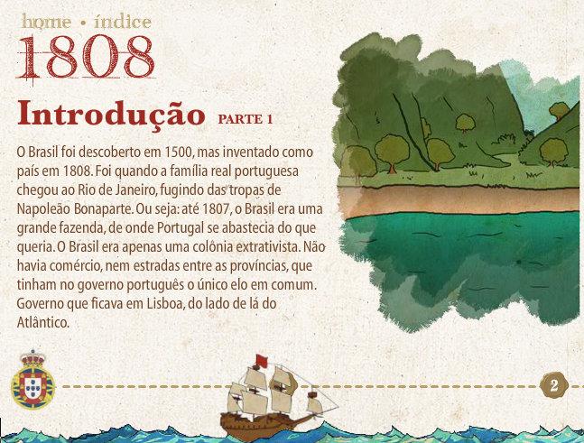 Ilustração jogo 1808