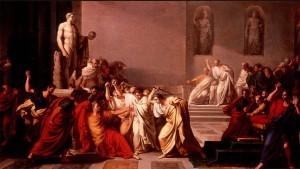 Morte di Giulio Cesare (quadro de Vincenzo Camuccini, 1798)