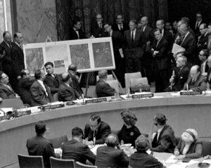 Sessão de emergência do Conselho de Segurança da ONU em 25 de outubro de 1965