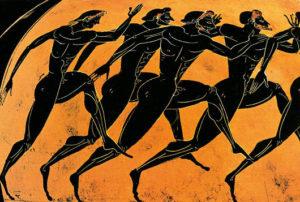 Corrida é o único esporte disputado até 724 a.C.